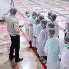 بازدید دانشآموزان پژوهشگر منطقه