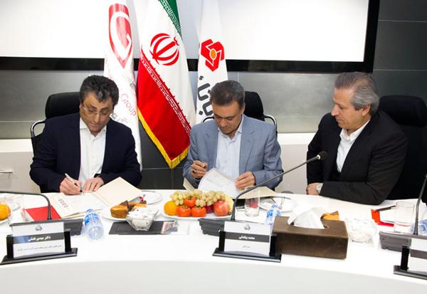 گروه صنعتی گلرنگ و بانک ملت تفاهمنامه امضا کردند