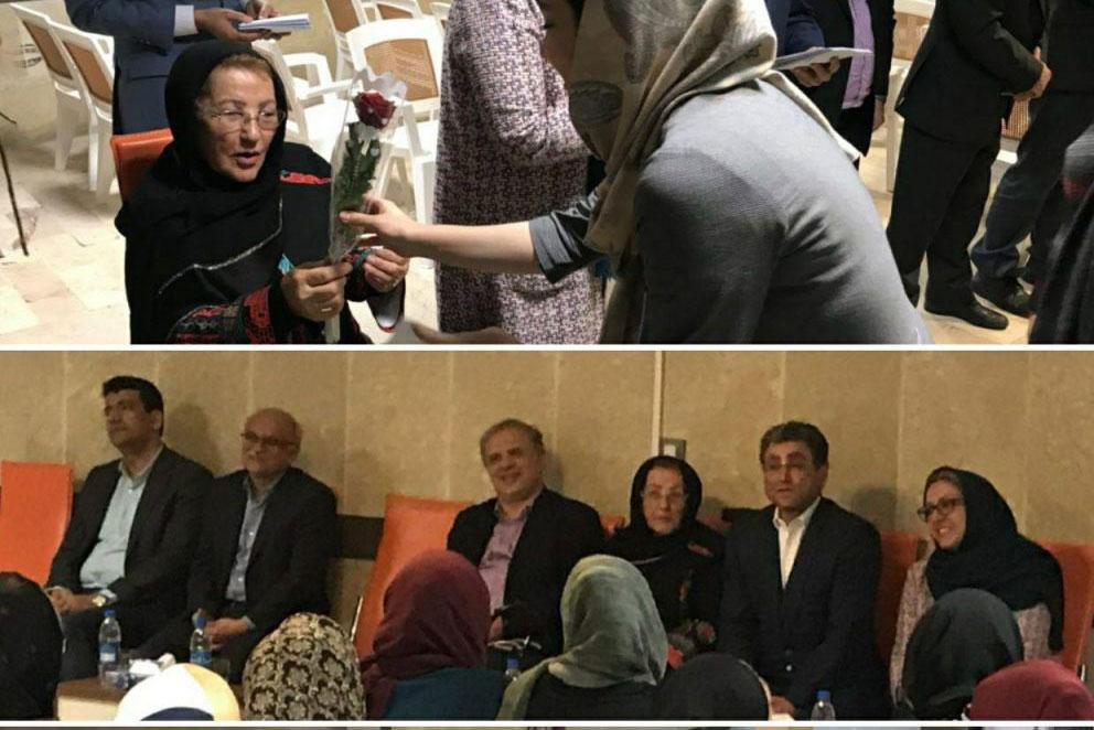 مراسم بزرگداشت روز زن در گروه صنعتی گلرنگ برگزار شد