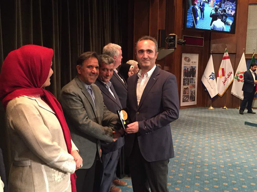 گروه صنعتی گلرنگ موفق به کسب نشان اهتمام دومین جایزه مسئولیتهای اجتماعی شد