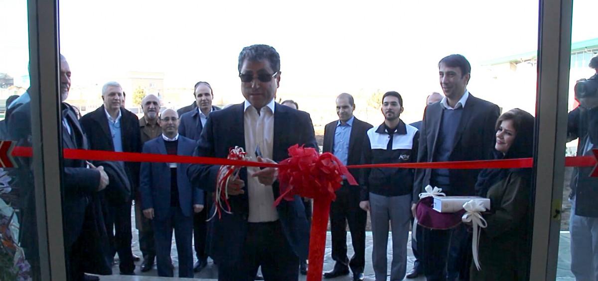 مجتمع تولیدی پدیده شیمی قرن در زنجان افتتاح شد