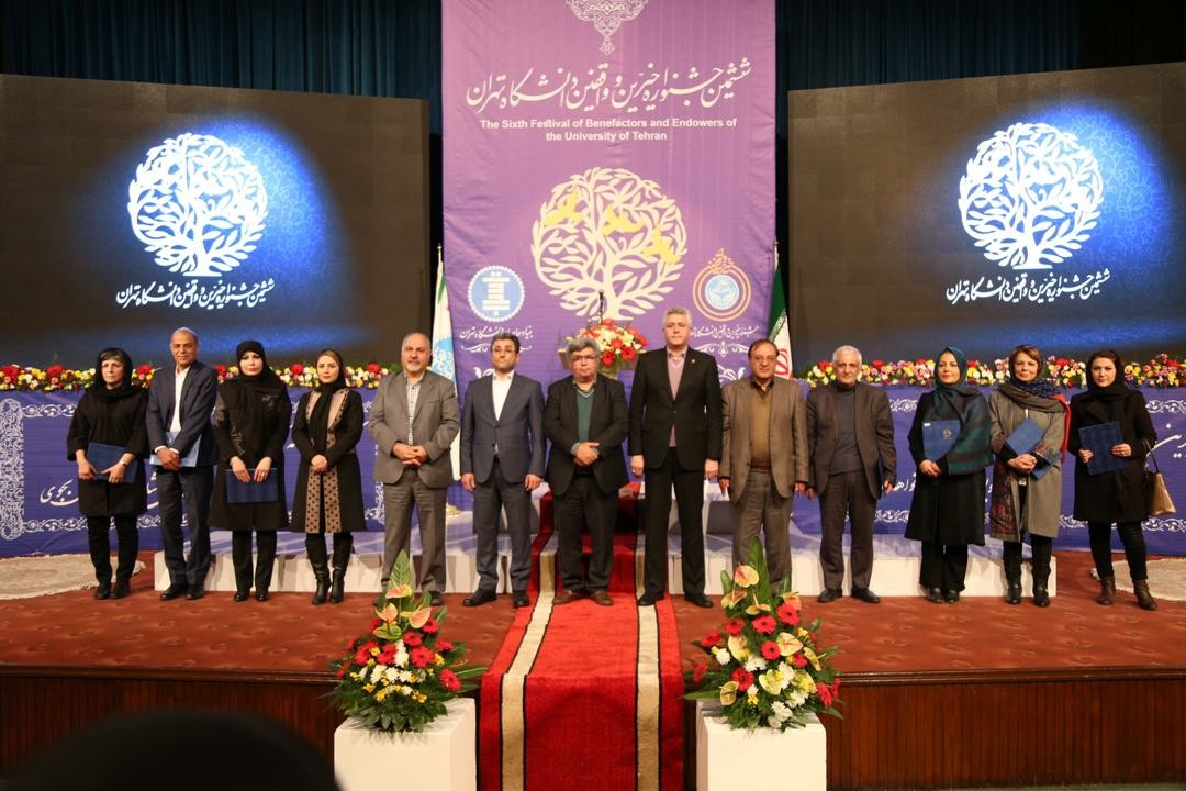 گروه صنعتی گلرنگ ۱۷۷ دانشجوی دانشگاه تهران را بورسیه کرد