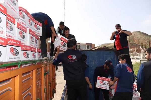 انعکاس خبر یاریرسانی گروه صنعتی گلرنگ به آسیبدیدگان سیل در خبرگزاری مهر
