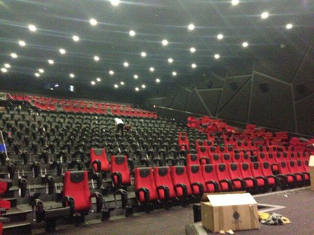 نوسازی سالنهای پردیس سینمایی کورش