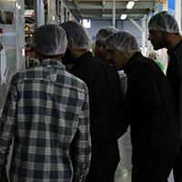بازدید دانشجویان دانشگاه امام